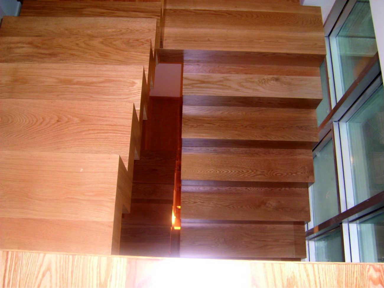 Escaleras carpintería
